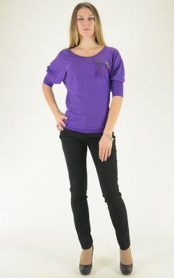 фиолетовый джемпер Felicita
