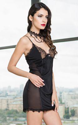 Сорочка Mia-Amore чёрная