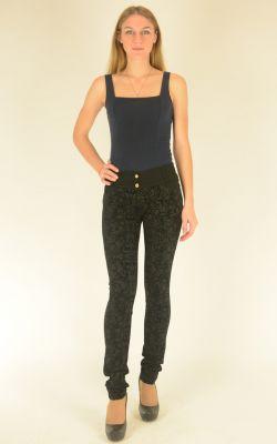 узкие бархатные брюки Vivento