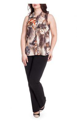 цветная коричневая блузка Vipart