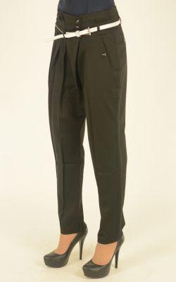 черные молодежные брюки Vangeliza