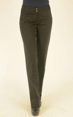 черные классические брюки Nadin