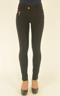черные узкие брюки Lasagrada