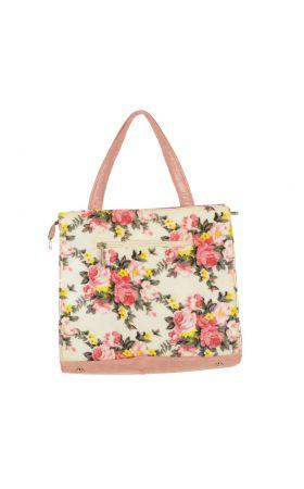Великолепная розовая сумка Peccini, фото 2