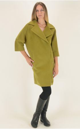 Пальто Dolche Moda - Лайм, фото 2