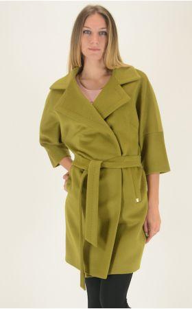 Пальто Dolche Moda - Лайм, фото 1