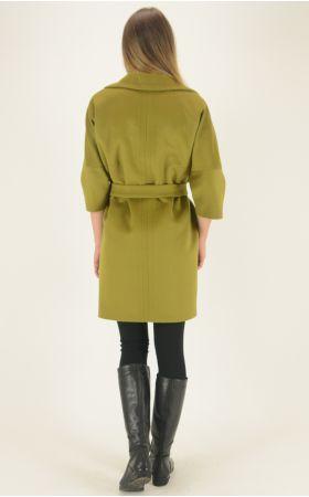 Пальто Dolche Moda - Лайм, фото 5