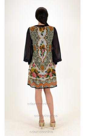 Платье с манжетами с доставкой