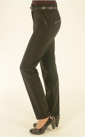 брюки Vivento с кожей