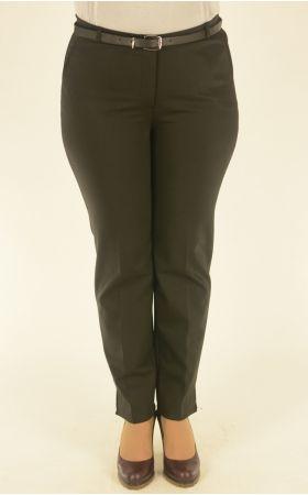черные зауженные брюки Vivento