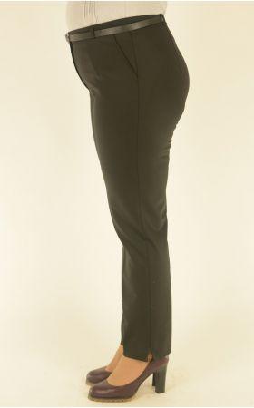 классические черные брюки большого размера