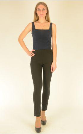 узкие черные брюки Bovona