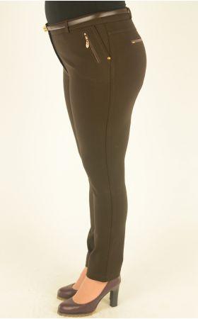 узкие коричневые брюки Vivento
