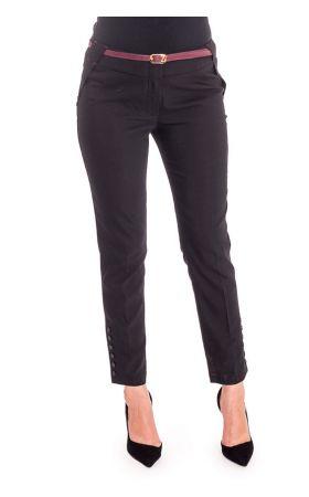 брюки 7/8 черные Vivento
