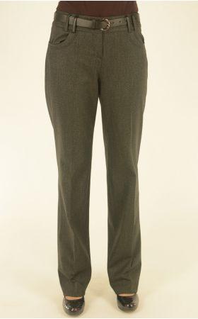 классические длинные брюки Nadin серого цвета