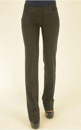 черно-серые классические брюки Nadin