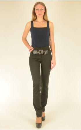 брюки черные Vangeliza узкие