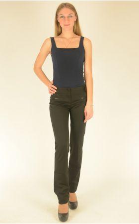 брюки с отстроченными швами