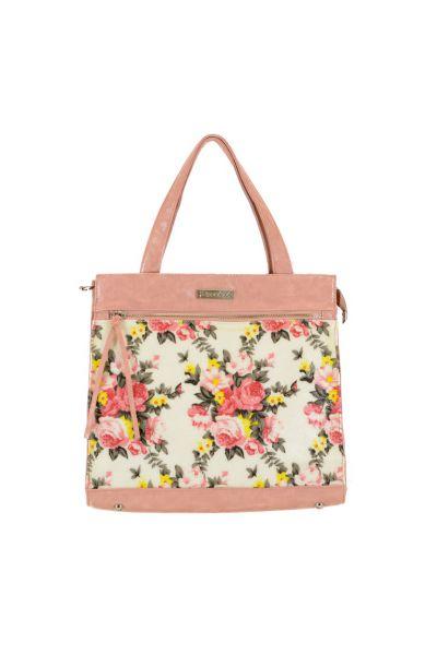 Великолепная розовая сумка Peccini, фото 1