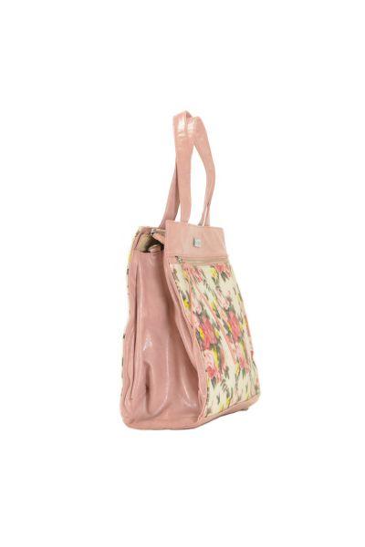 Великолепная розовая сумка Peccini, фото 3