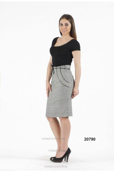 Замечательная женская юбка до колена, фото 1