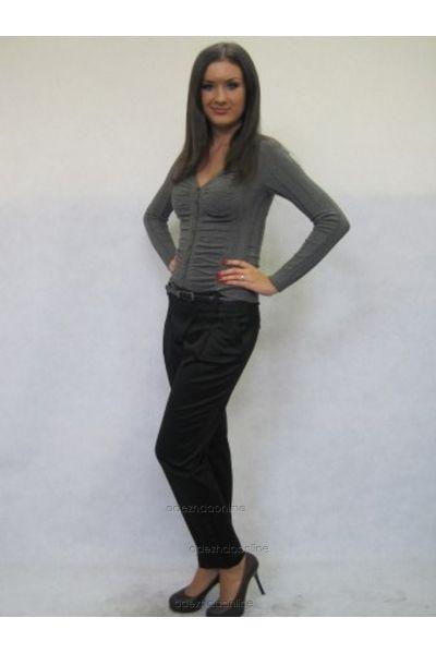 Стильные женские брюки полной длины со средней посадкой., фото 1
