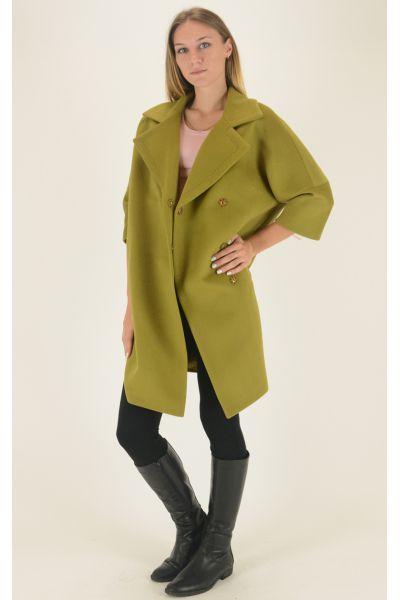 Пальто Dolche Moda - Лайм, фото 3