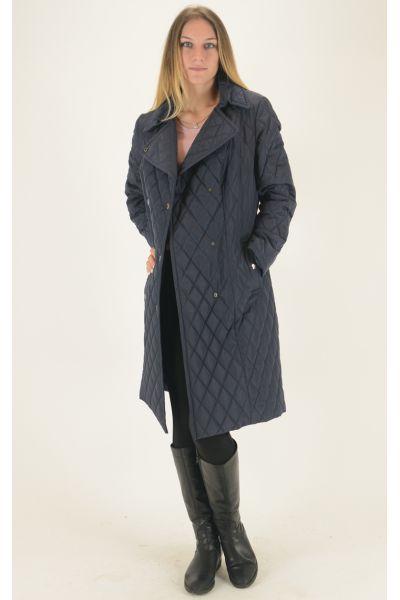 Пальто Simpatika тёмно-синее