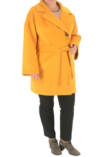Пальто Simpatika желтое