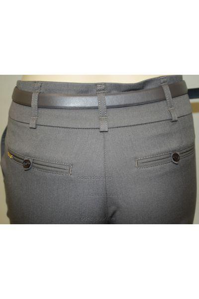 Классические женские брюки со средней посадкой полной длины., фото 3