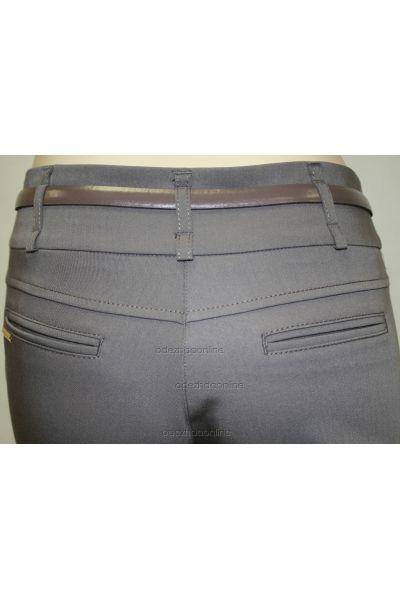 Стильные узкие женские брюки полной длины со средней посадкой., фото 4