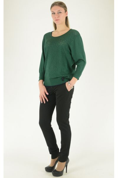зеленый джемпер Felicita