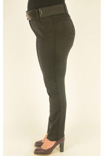 черные брюки  Vivento на широком поясе