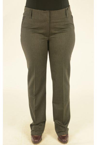 темно-серые классические брюки Vivento