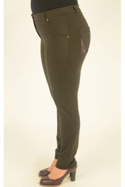 узкие брюки Alkis с накладными карманами