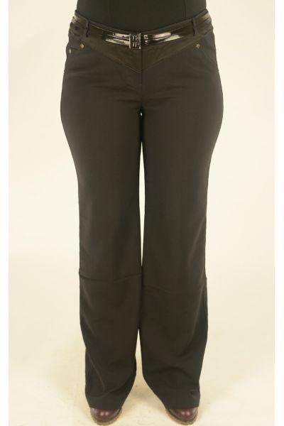 черные брюки Lasagrada с ремнем
