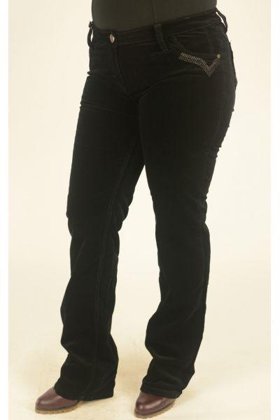 вельветовые брюки большого размера