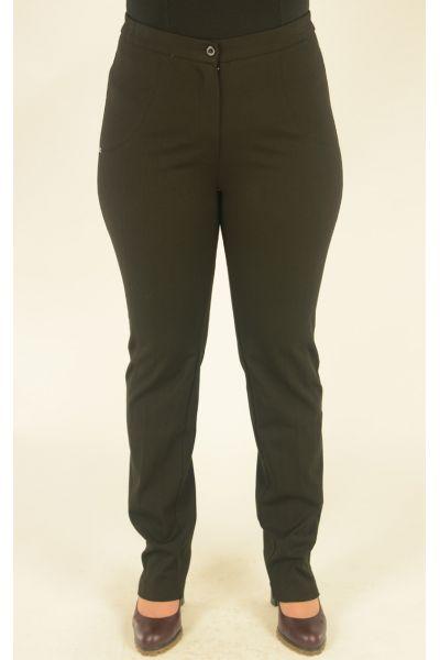 черные брюки узкие с высокой посадкой